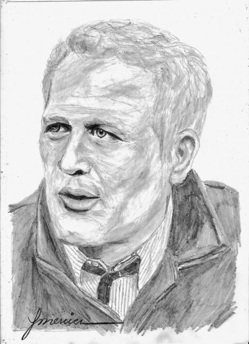 Paul Newman por YMERCIER